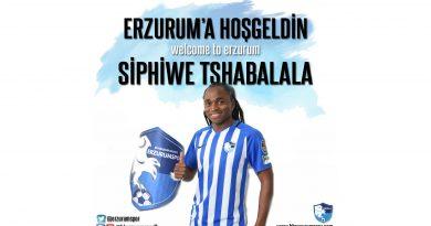 Siphiwe Tshabalala ile 2+1 yıl sözleşme imzaladık.